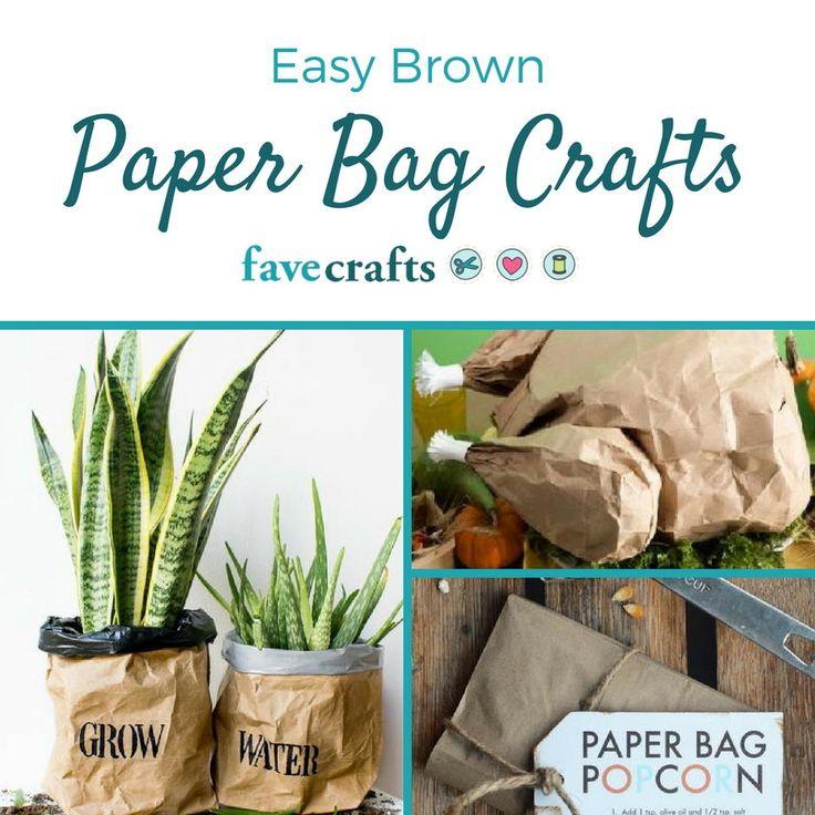 20+ Brown Paper Bag Crafts