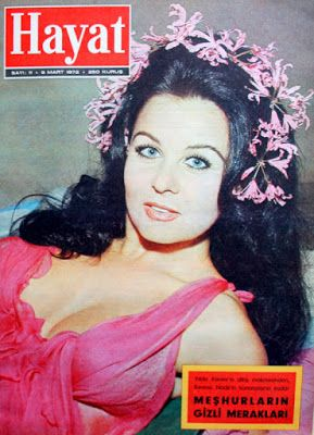 Fatma Girik 1972 Hayat dergisi