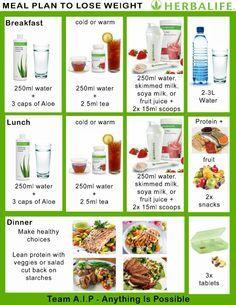 Best 10+ Herbalife meal plan ideas on Pinterest | Diet snacks ...