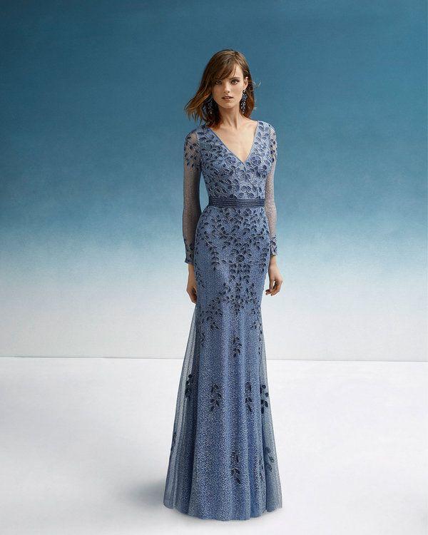 b69b0142a 60 vestidos de fiesta de color azul  ¡arrasa en tu evento luciendo alguna  de sus tonalidades! in 2019