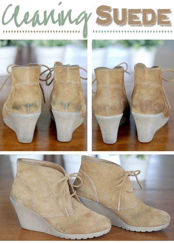 We all have in our wardrobe at least one article made from suede. And , also we know how quickly gets dirty and how hard is to clean it! But you are in the perfect place and you will find out the e...