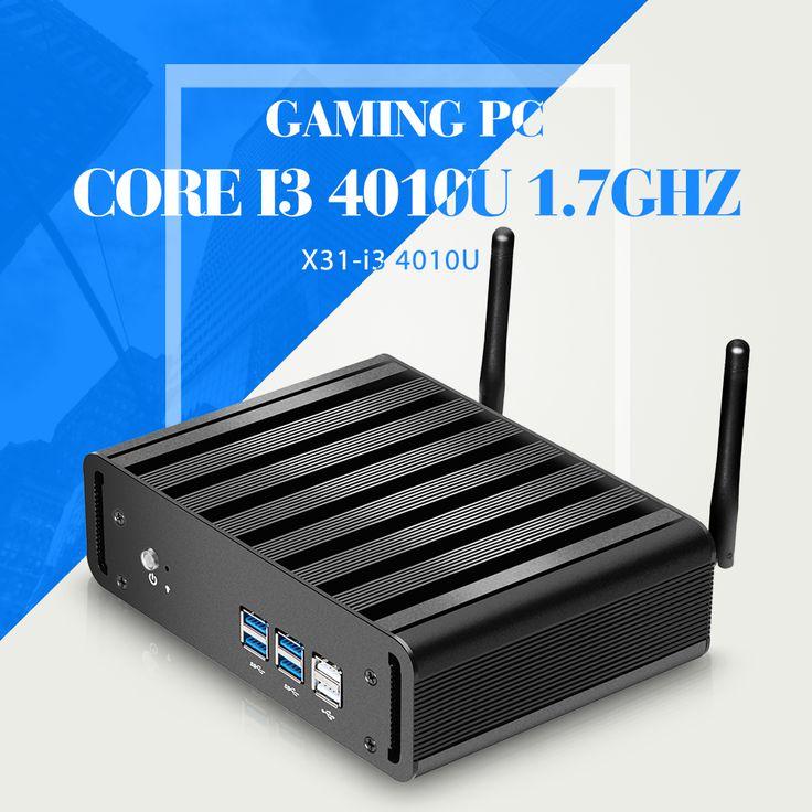 Mini PC Desktop Computer I3 4010u Barebone pc Tablet Computer Support Window 8.1/7/XP Industrial Thin Client