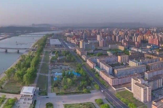Vídeo em timelapse mostra passeio pela capital da Coreia do Norte