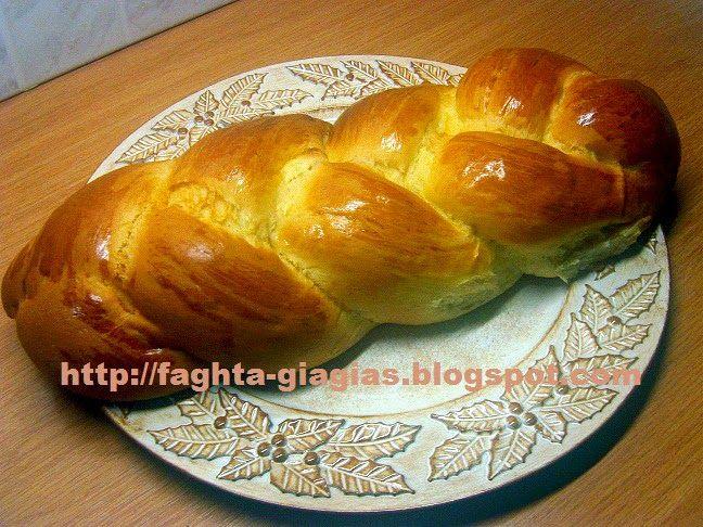 Τα φαγητά της γιαγιάς - Τσουρέκι αφράτο