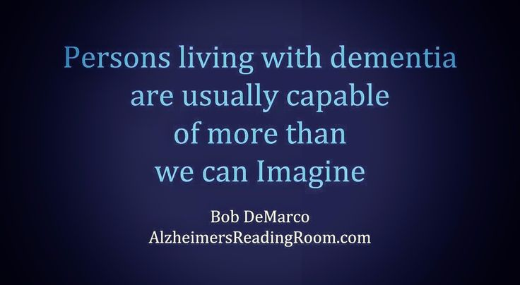 Alzheimer's Patients are Capable of More Than We Can Imagine