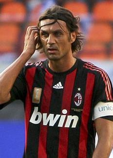 Paulo Maldini, role model and Captain of AC Milan, chosen because i have the strengths of Includer, competition woo and command, probably from playing football for so many years #MFC4012