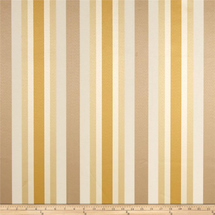 Jaclyn Smith 02621 Bank Stripe Blend Cashew Upholstery Window Treatments And Valance Curtains