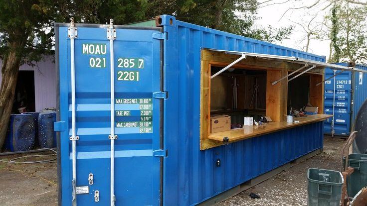 20 Ft Cargo Shipping Container Bar eBay