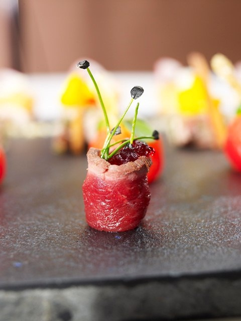 115 best amuse bouche and hors d 39 oeuvre images on for Canape hors d oeuvres difference
