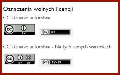 Przewodnik po Otwartych Zasobach Edukacyjnych - Wolne licencje - Szkoła z Klasą 2012