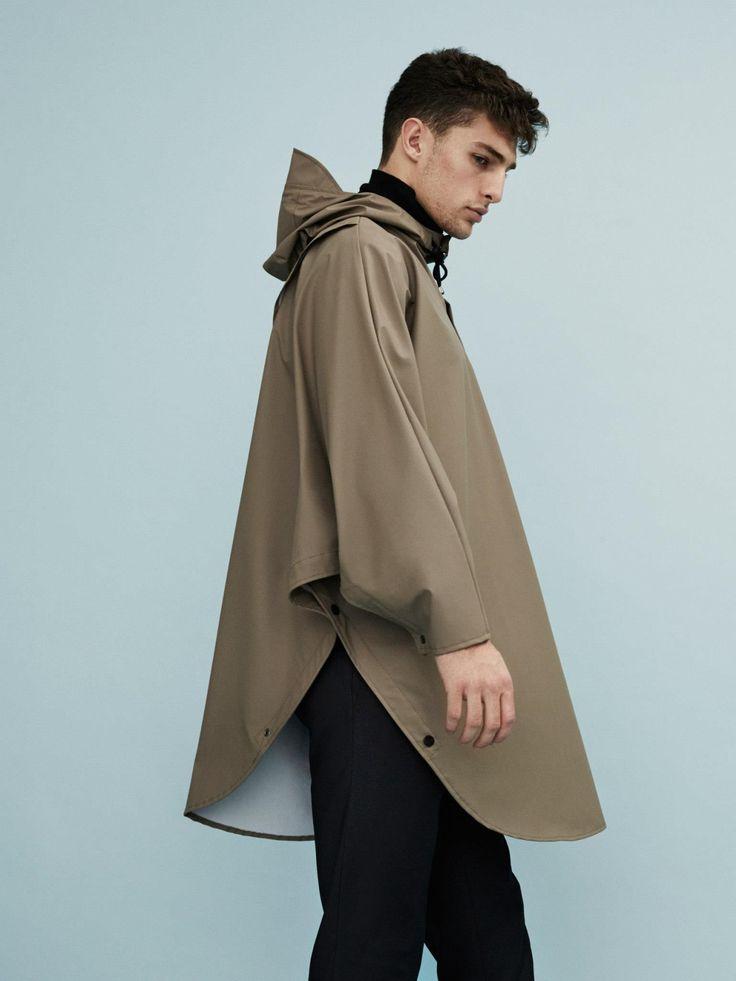 Fashion we like / Rain Coat / Brown / poncho / Bicycle / at mxdvs:  Rains AW15 Collection