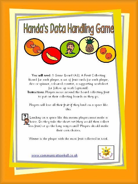 Handa's Data Handling Game