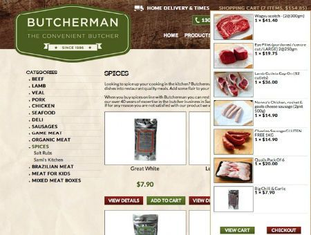 Butcherman listed at no.8 among #Yahoo!7's top 10 list of The Best Online Stores For Aussies | See: http://au.smallbusiness.yahoo.com/photos/photo/-/20068539/the-best-online-stores-for-aussies/20068549/