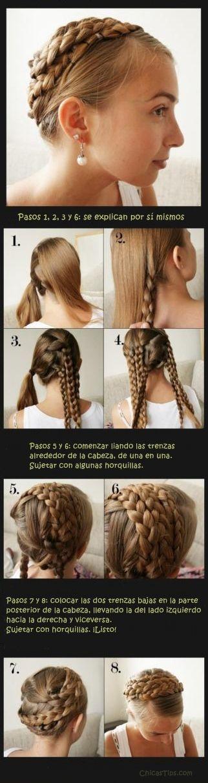 Peinados Medievales faciles