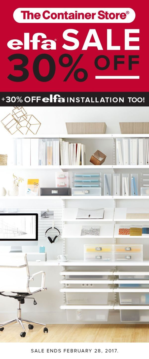 102 best elfa office images on pinterest | container store, craft