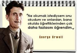 george orwell sözleri ile ilgili görsel sonucu