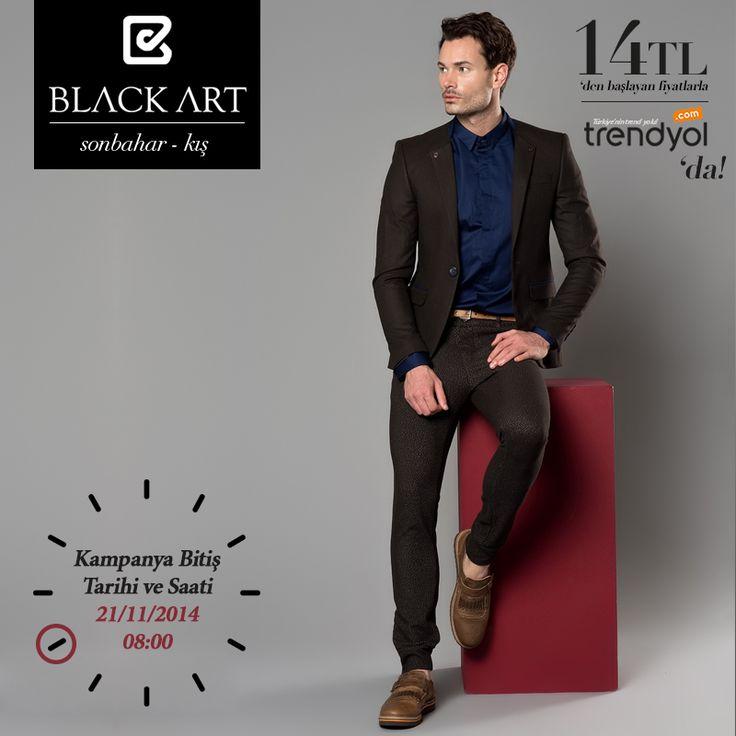 Black Art Sanatsal Dokunuşlarıyla Trendyol'da!  Kampanya (Bitiş Tarihi:21/11/2014) (Saat:08.00) #ceket #gomlek #tshirt #pantolon #kaban #mont #triko #fashion #men #sale #man #forsale #kampanya #sanatsaldokunus Trendyol  http://goo.gl/Vu4zRu