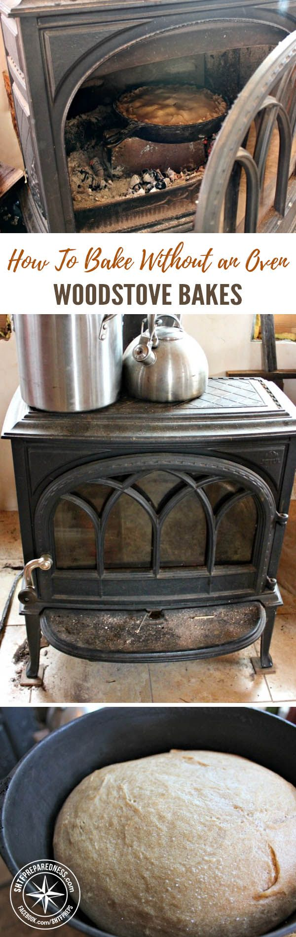 Baking Without an Oven - Woodstove Bakes — One of my favorite parts of the holiday season is the food; the baked goods, in particular. Living off-grid doesn't mean you can't enjoy some fresh baking. On Homestead Honey, there is an article on how to bake in your woodstove during the winter.