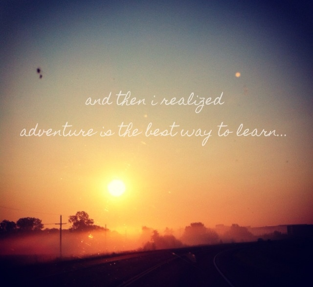 Sunset Adventure Quotes. QuotesGram