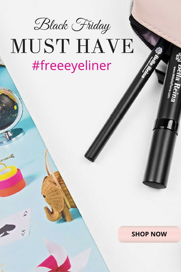Free Blue Eyeliner with any Black Hypoallergenic Mascara $38 Value only $19.95