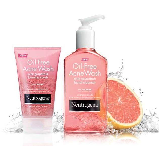 Neutrogena Pink Grapefruit Face Wash