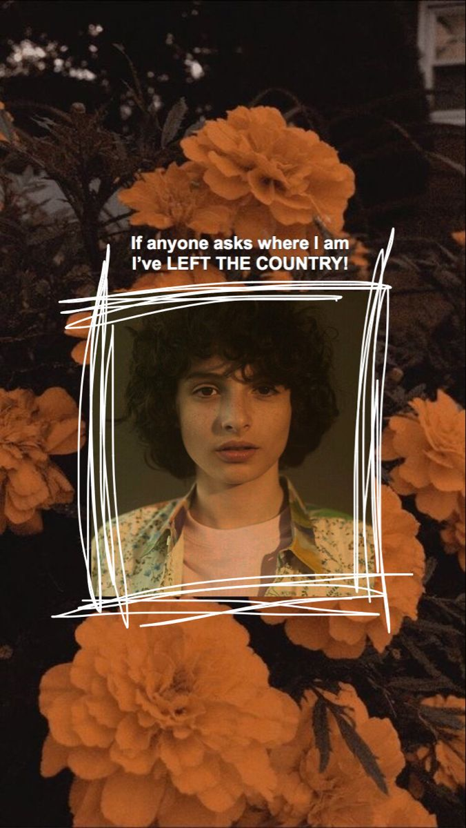 He Left Finn Stranger Things Stranger Things Stranger Things Wallpaper