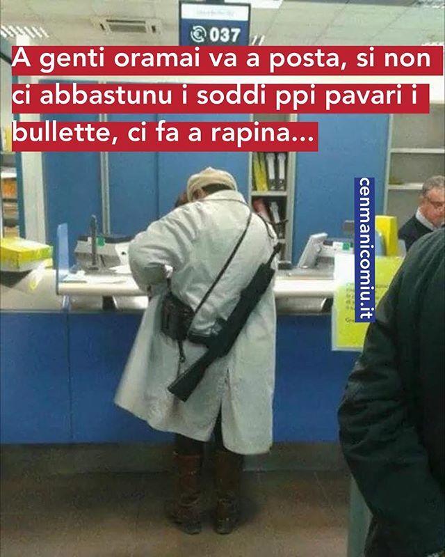 #c'ètroppacrisi #avirità #cenmanicomiu #accavallato #usaicom'è #posteitaliane