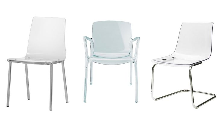 Wallet-friendly clear chairs  - Redbook.com
