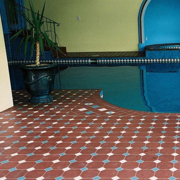 carrelage octogone. octogon tile.