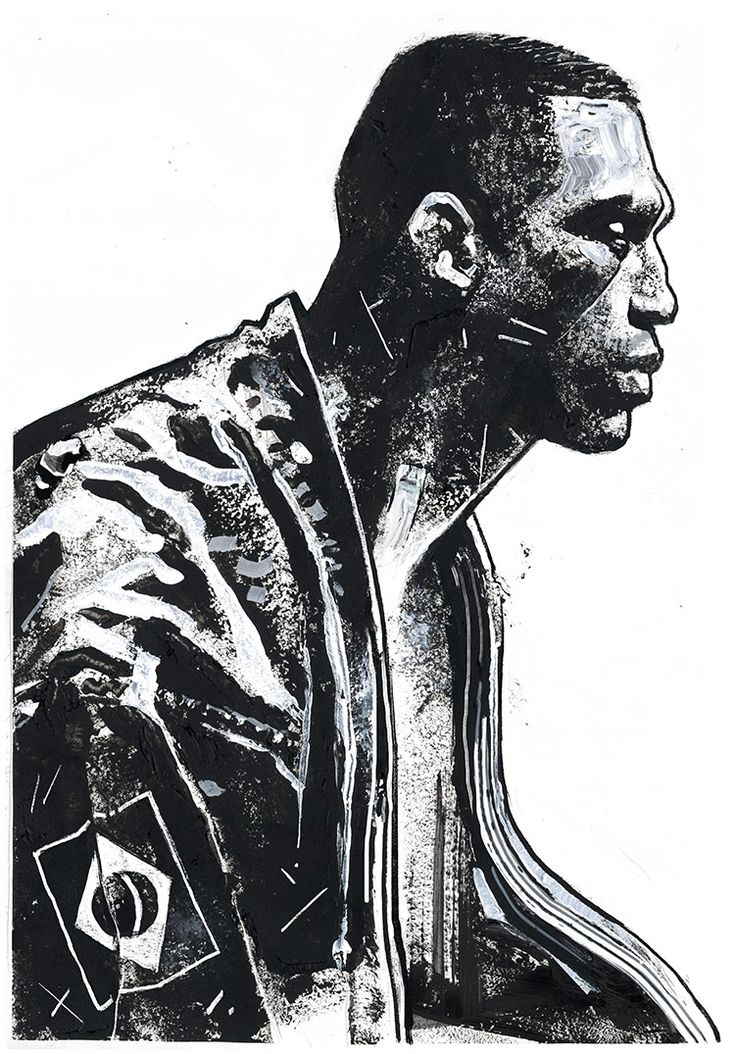 """""""Werdum"""" 21″x30″ Acrylic, Digital. 2016. Check it out on Vice Fightland"""