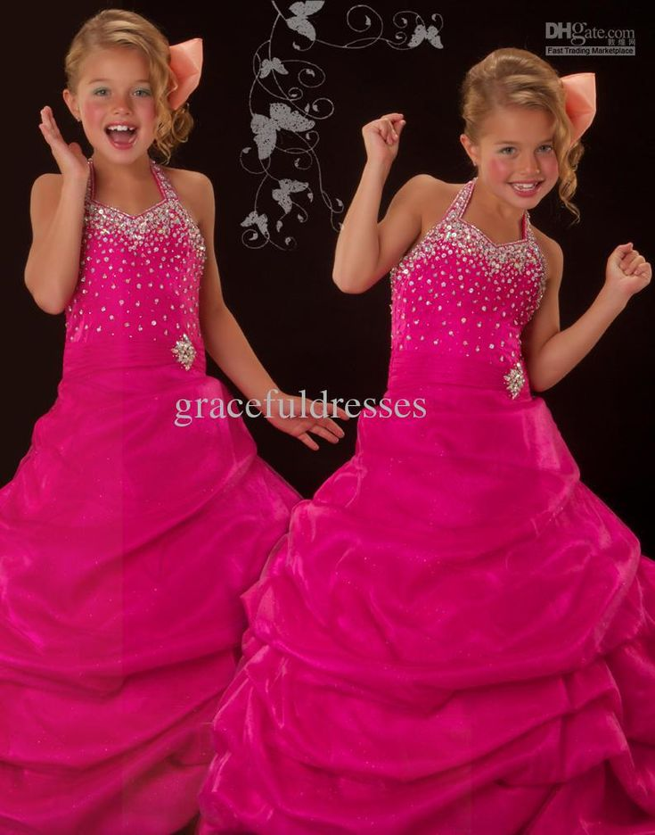 New Pageant dresses for kids dresses for weddings Kids evening gowns flower girls dresses 2013 $70.00