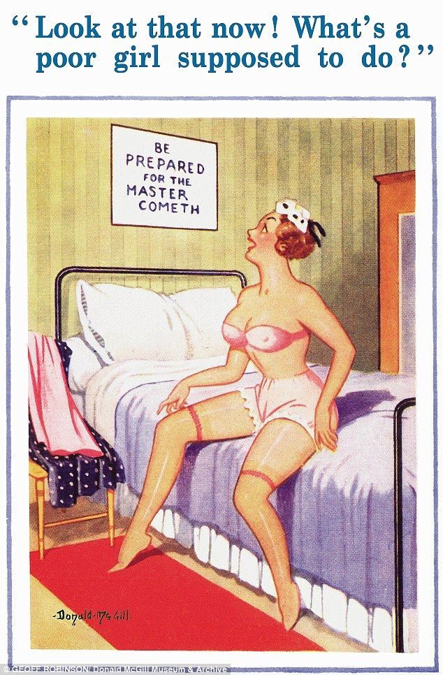 Donald McGill obscene seaside postcards banned 50 years ago go on ...