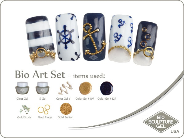 Nautical art set