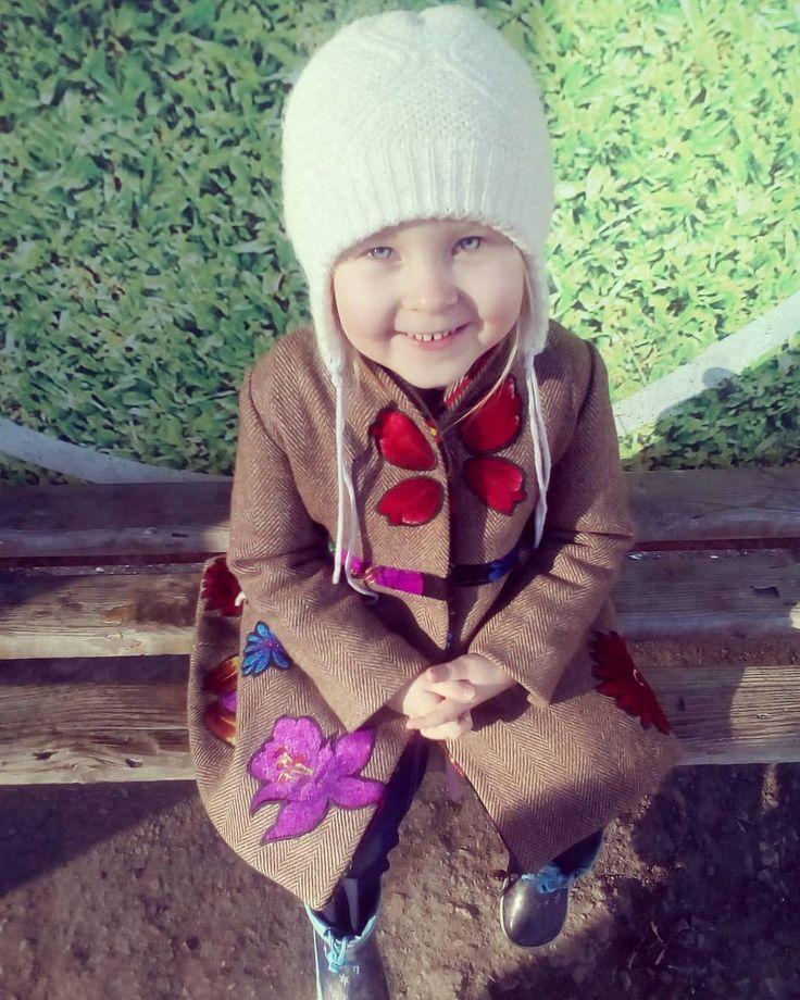 Coat for girls fashion from @odejdalab/ Пальто для девочки