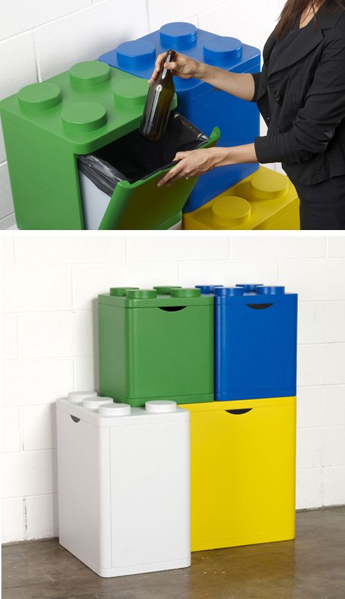 Lego Recycling Containers But I Would Want As Toy Storage