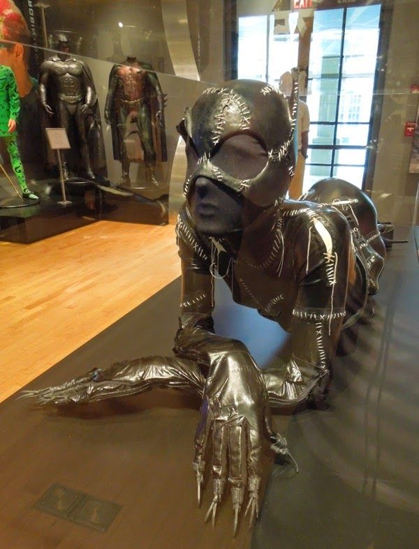 Original Catwoman catsuit worn by Michelle Pfeiffer  in Batman Returns