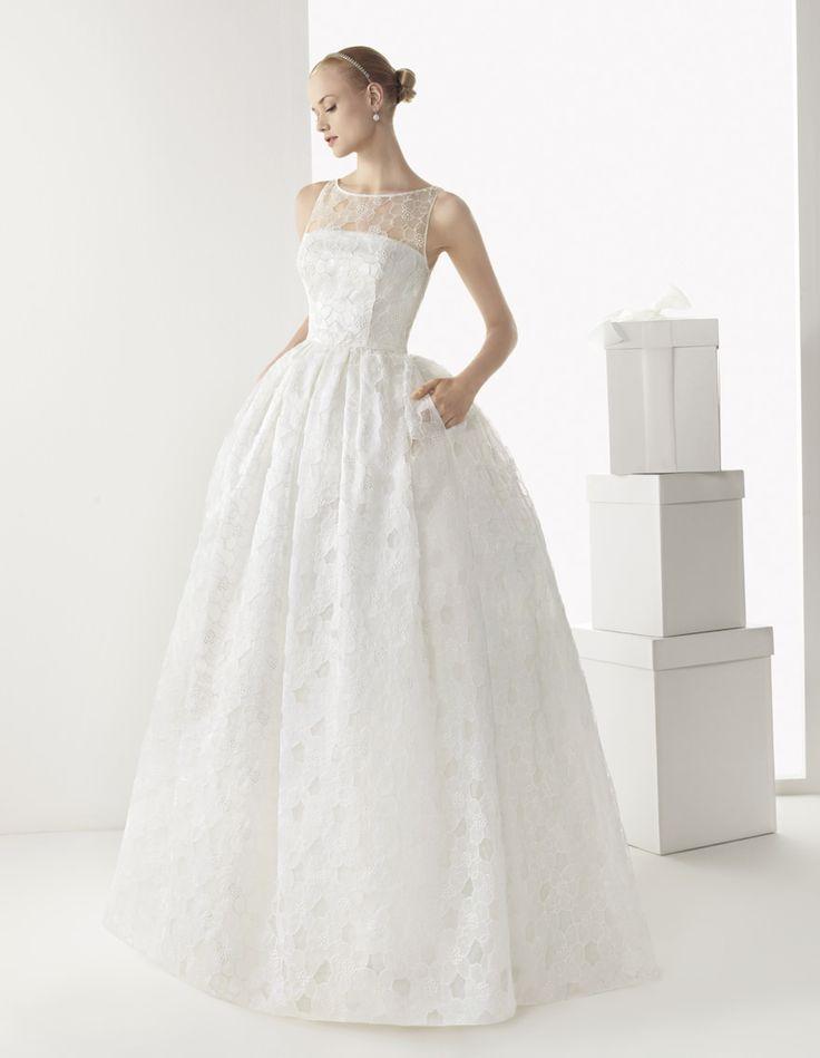 Кружевное свадебное платье Rosa Clara Bilbao