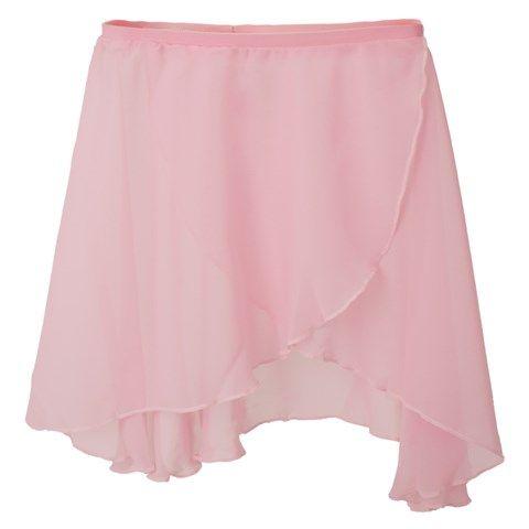 Dancing lessons. Bloch Pink Crossover Skirt | AlexandAlexa