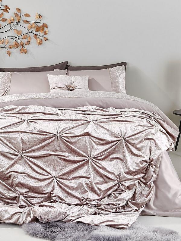 Amelie Crushed Velvet Bedspread Throw Velvet Duvet Velvet Bedspread Duvet Cover Sets