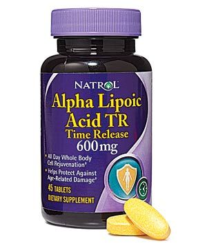 in The American Journal of Medicine, obese people who were told to reduce their food intake prior to the study by 600 calories a day and who took 1,800 milligrams of alpha lipoic acid daily for 20 weeks lost significantly more weight—up to 5 percent of their total body weight—than did a placebo group.