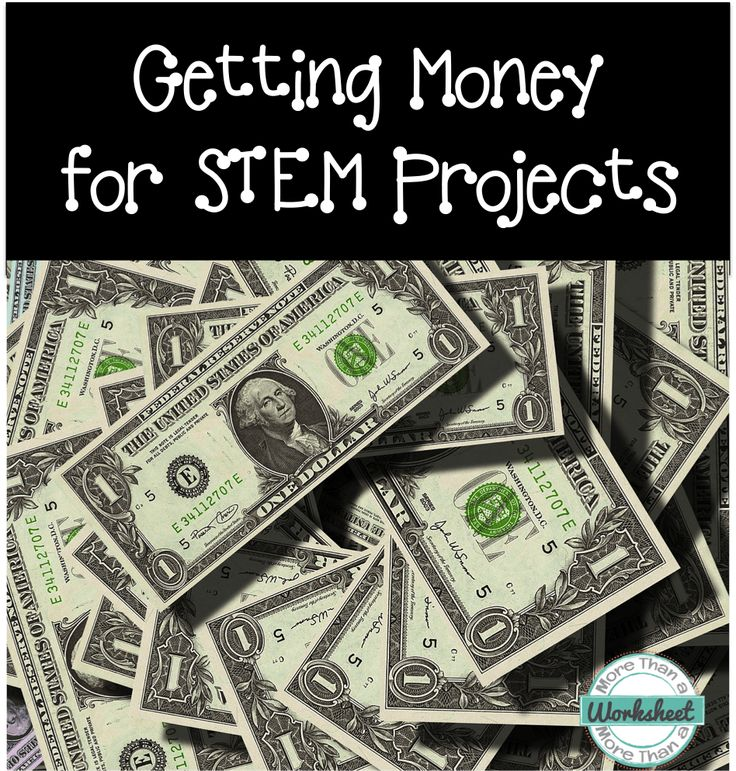 Getting Money for STEM projects! A collection of STEM grant writing sources and tips from More Than a Worksheet