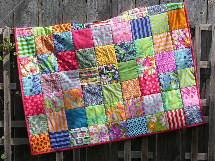 Finished quilt at Fifilepew #quilting