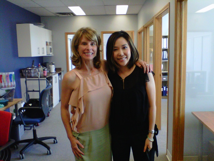 """Just Ask Judy - July 25, 2012 - Gloria Tsang     Thank you for coming in Gloria! Was so great meeting you. The theme of this #JustAskJudy turned out to be """"focus"""".     Judy's advice for when you have a lot of opportunities coming your way: set specific business goals and use those as filters to make decisions about the opportunities."""