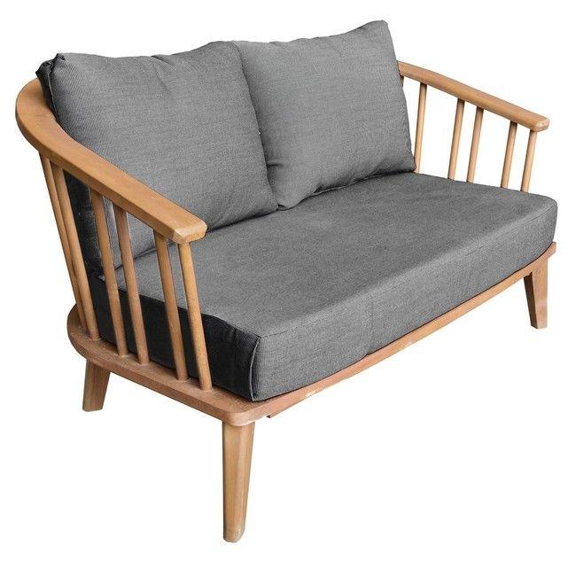 Les 25 meilleures id es de la cat gorie canap de palette en bois sur pinterest meubles en for Entretien d un salon de jardin en acacia
