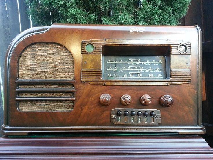 MARCONI 136 antique radio ( Made in 1938 )