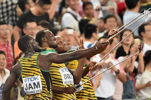 Usain Bolt conquista el triplete con el oro de Jamaica en la final 4x100