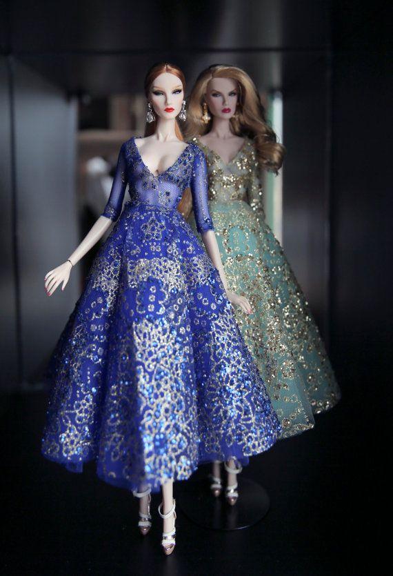 Vestido de la realeza de la moda Poppy Parker Silkstone