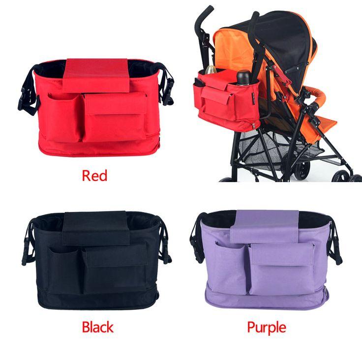 Newborn New Baby Stroller Cart Organizer Nappy Bags Pram Buggy Bottle Diaper Bag #Unbranded #casual