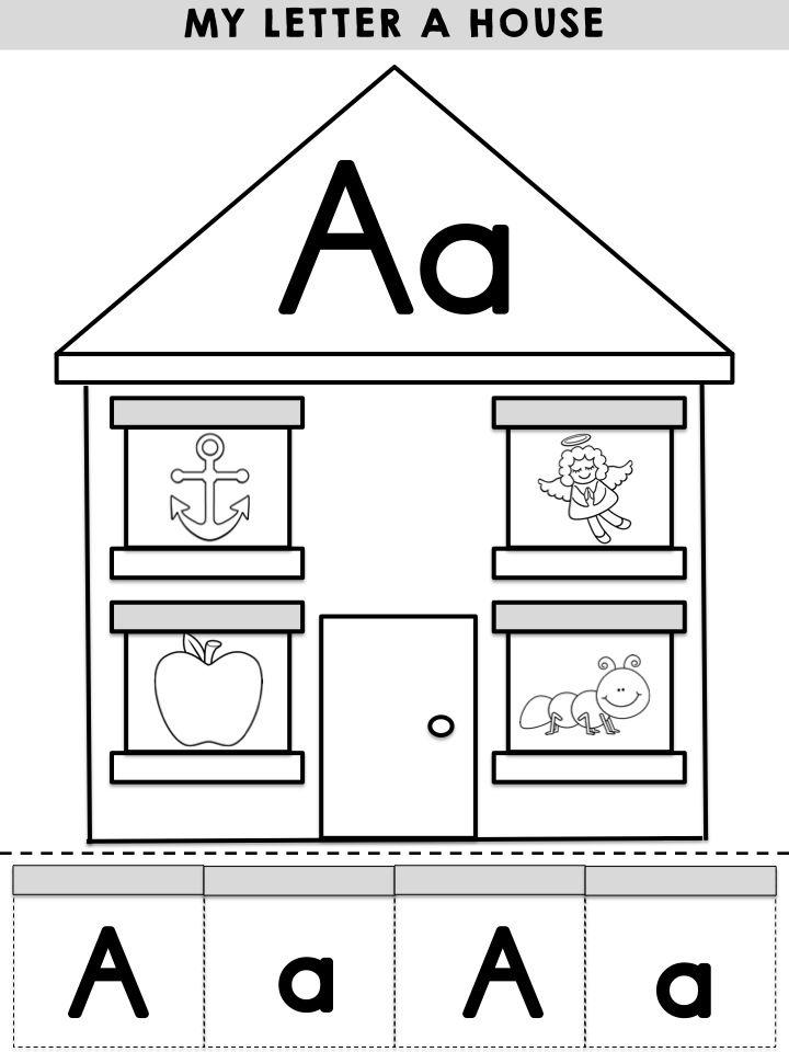 51 best letter aa images on pinterest writing preschool and kindergarten. Black Bedroom Furniture Sets. Home Design Ideas