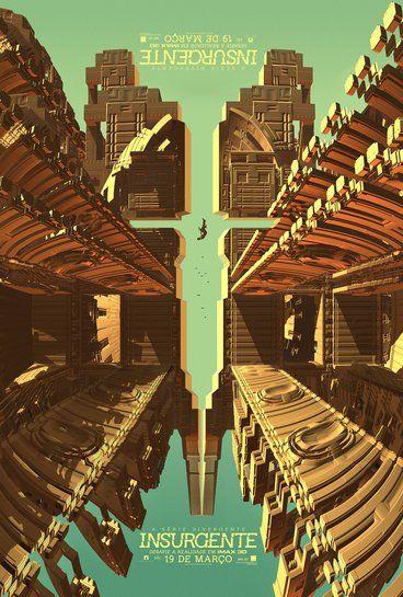 A Série Divergente: Insurgente | Veja o cartaz para o lançamento em IMAX do filme | Omelete